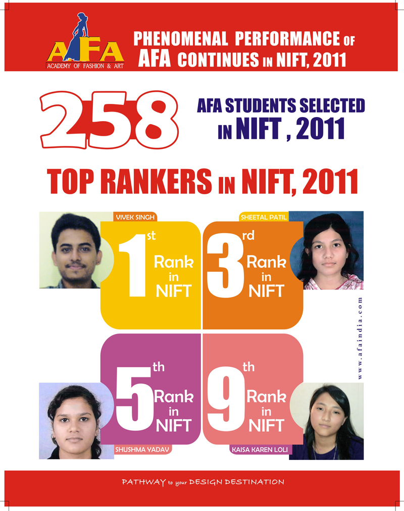 Top Nift Result 2011