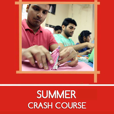 summer crash course for  nift nid ceed
