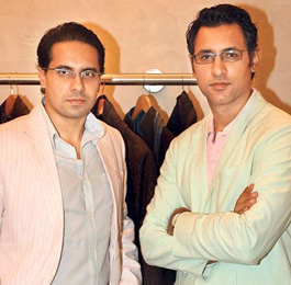 SHANTANU MEHRA AND NIKHIL MEHRA FASHION DESIGNER