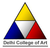 DELHI COLLEGE OF ART  LOGO