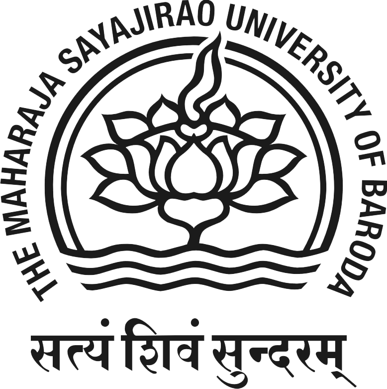 THE MAHARAJA SAYAJIRAO UNIVERSITY OF BARODA LOGO
