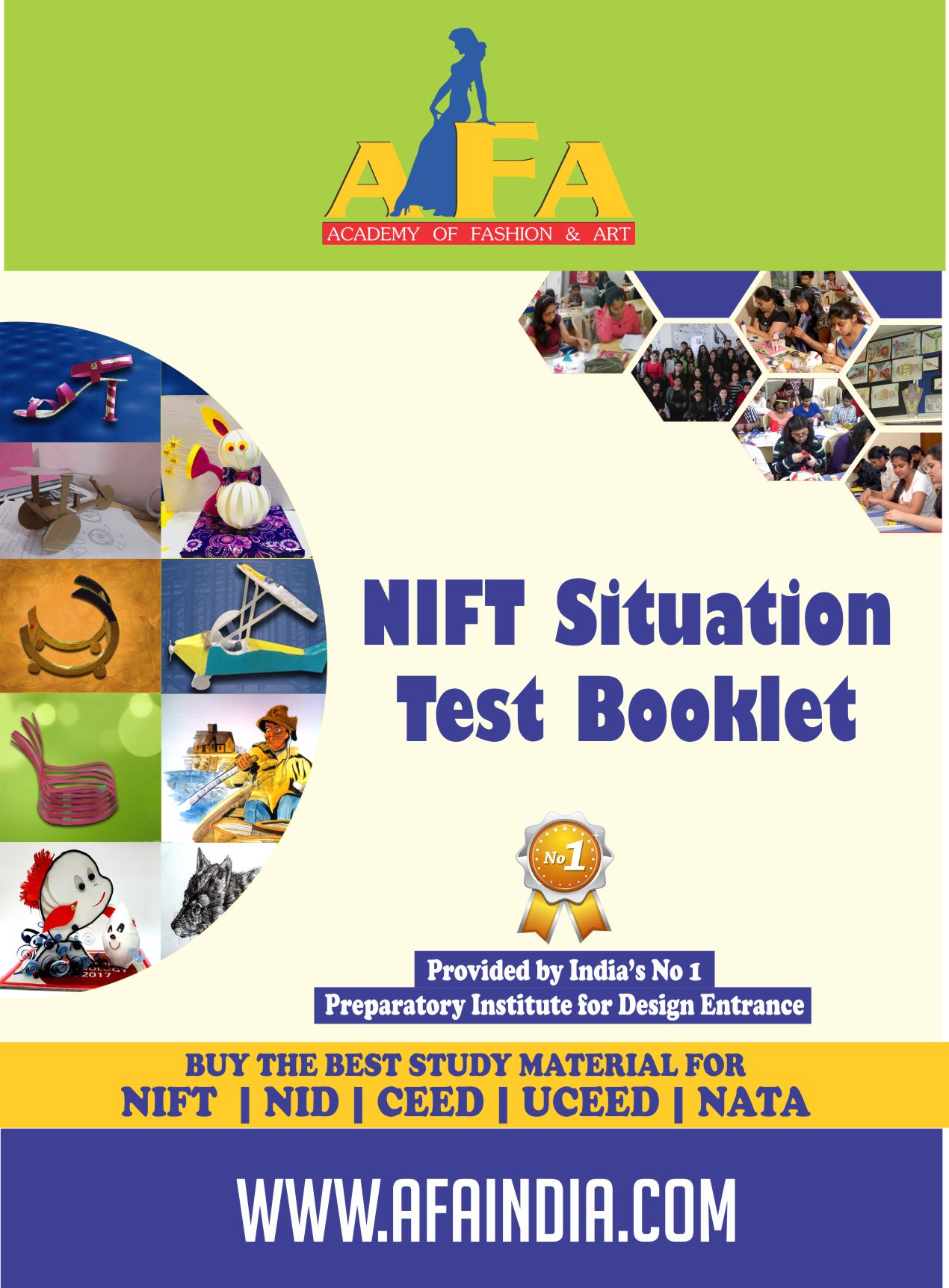 nift situation test books