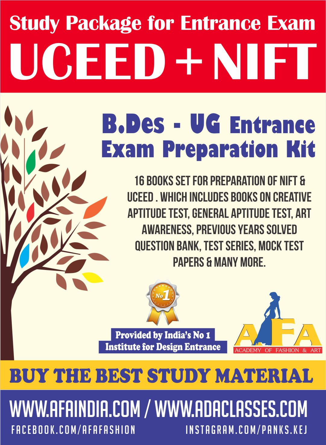 nift uceed books