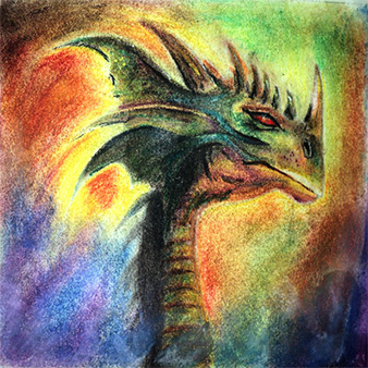 nid students dragon drawing